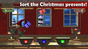 Santa's Workshop Panic game screenshot