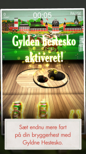 Tuborg Derby arcade game screenshot